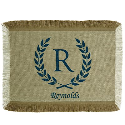 Rustic Country Placemat - Blue