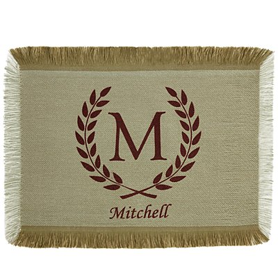 Rustic Country Placemat - Burgundy