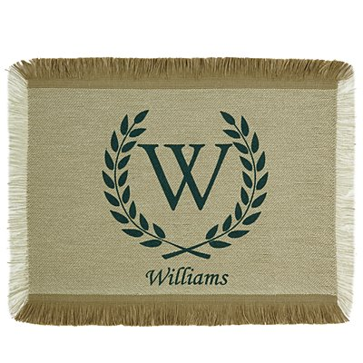 Rustic Country Placemat - Green