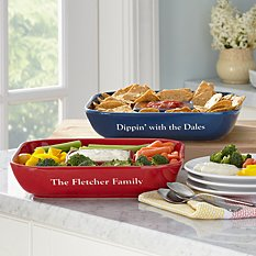 All-In-One Chip & Dip Platter