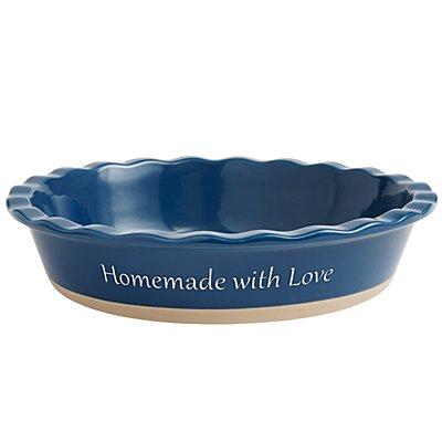 Pie Baking Dish - Navy Blue