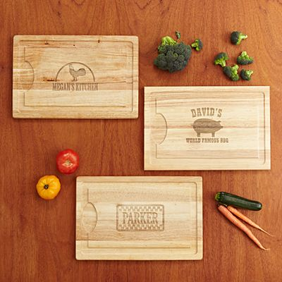 Personalized Carving Board