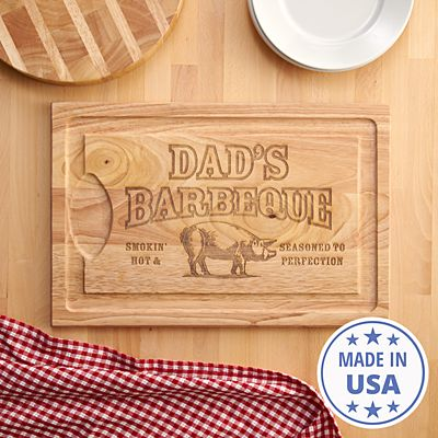 BBQ Master Wood Cutting Board