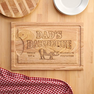 BBQ Master Wooden Chopping Board
