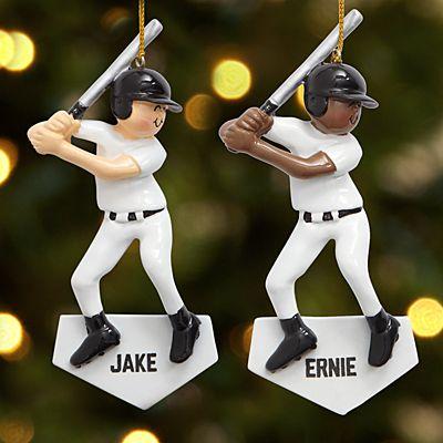Baseball Player Ornament