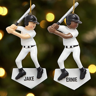 Baseball Player Bauble