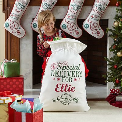 Santa's Special Delivery Oversized Gift Bag