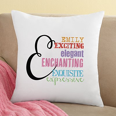 All About Her Throw Pillow
