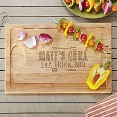 Grill Master Cutting Board