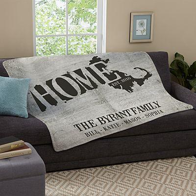 Home State Plush Blanket