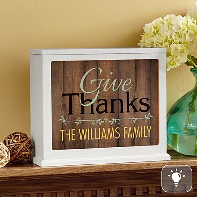 Give Thanks Accent Light