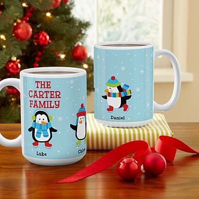 Playful Penguins Mug