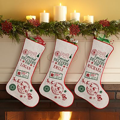 Special Delivery Personalized Stocking