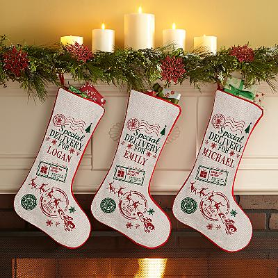 Special Delivery Personalised Stocking