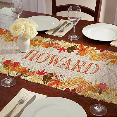 Fabulous Autumn Table Runner