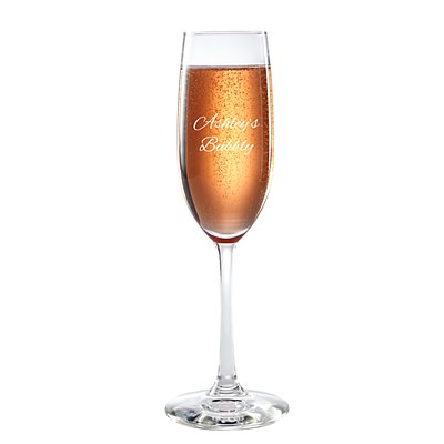 Create Your Own Champagne Flute - Message - Script