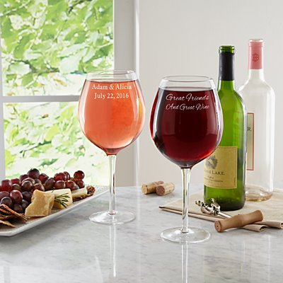 Create Your Own XL Wine Glass