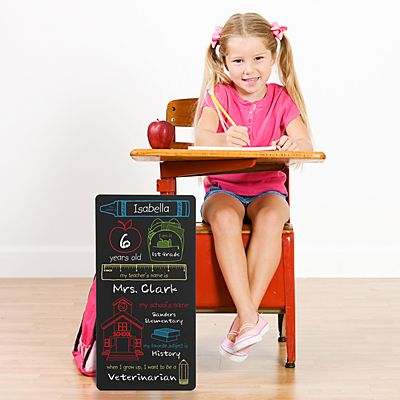 School Days Chalkboard