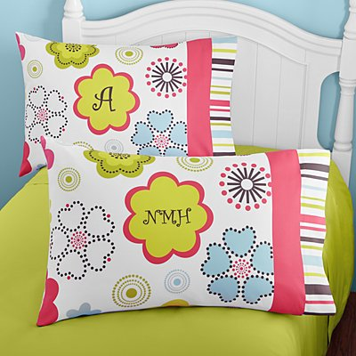 Fun Flowers Pillowcase