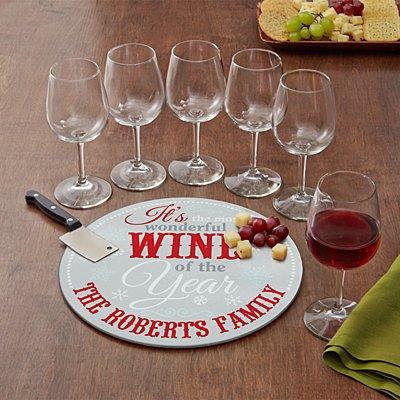 It's the Most Wonderful Wine 8 Piece Service Set