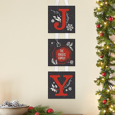 JOY Family Hanging Mini Canvas