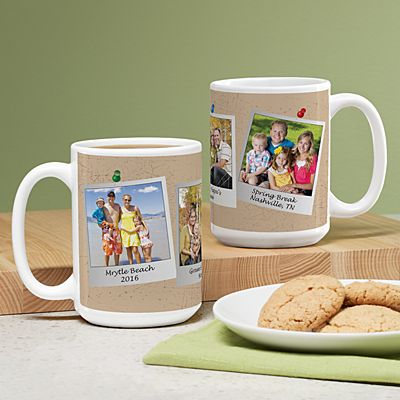Memories Shared Photo 15oz Mug