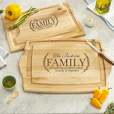 Better Together Wooden Cutting Board