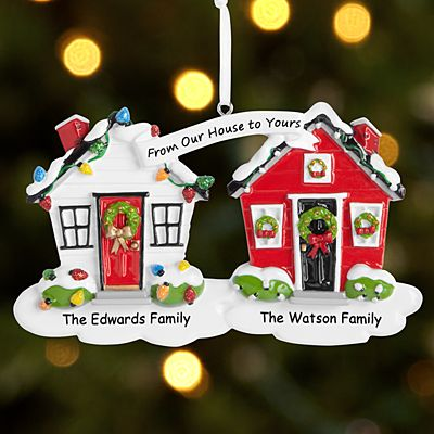 From Our House to Your House Ornament