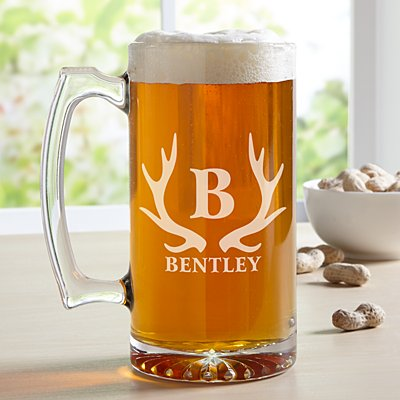 Beer Hunter Oversized Pint Glass