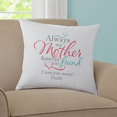 Personalized Forever My Friend Throw Pillow