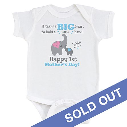 Free Compatible with cricut, silhouette and other cutting machines and easy to resize, change colors and customize however you'd like. Big Heart 1st Mother S Day Bodysuit Personal Creations SVG, PNG, EPS, DXF File