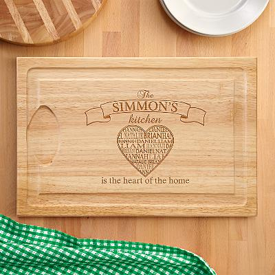 Heart of the Home Wooden Cutting Board