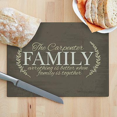 Better Together Glass Cutting Board