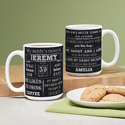 All About My Daddy Mug