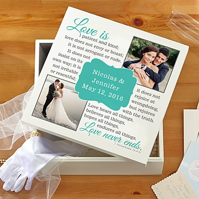 Love Is…Photo Keepsake Box