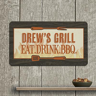 Grill Master Metal Sign