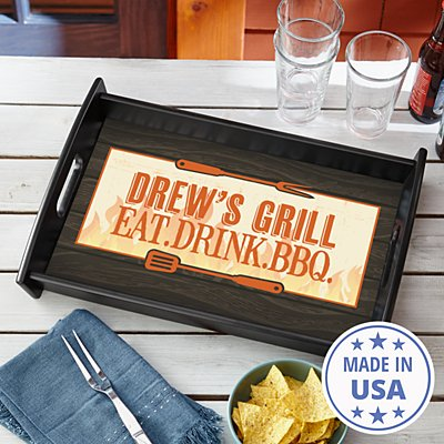 Grill Master Serving Tray