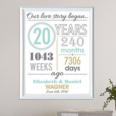 Timeless Love Story Framed Print