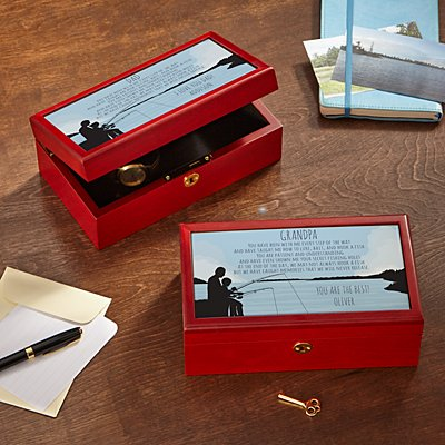 Fishing Memories Keepsake Box