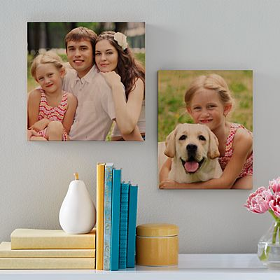 Picture Perfect Photo Wooden Square Plaque