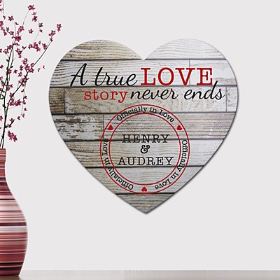 Vintage Wooden Heart