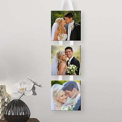 3 Photo Hanging Mini Canvas