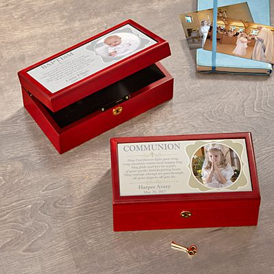 Faithful Blessings Photo Keepsake Box