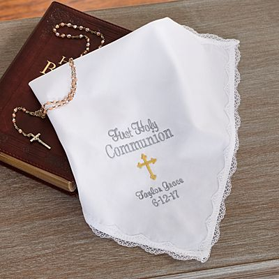 Sweet Communion Blessings Handkerchief