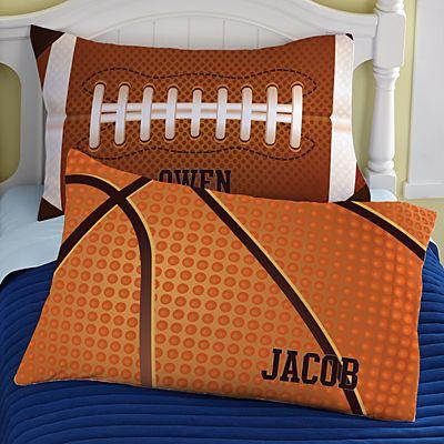 Sports Icons Pillowcase