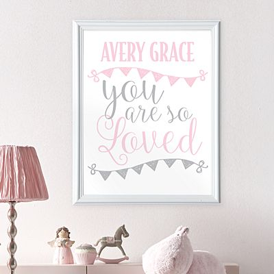 You Are So Loved Baby Framed Print