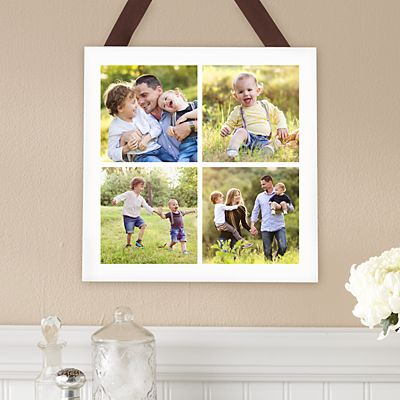 Picture Perfect Photo Tile Square Wood Plaque