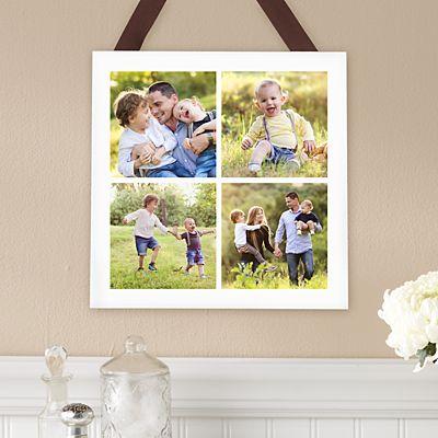 Picture Perfect Photo Tile Square Wood Plaque