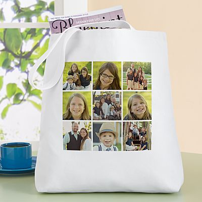 Picture Perfect Photo Tile Tote