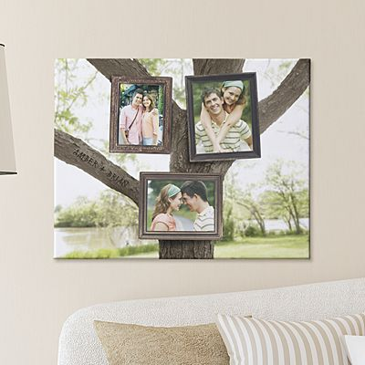 Photo Tree Canvas